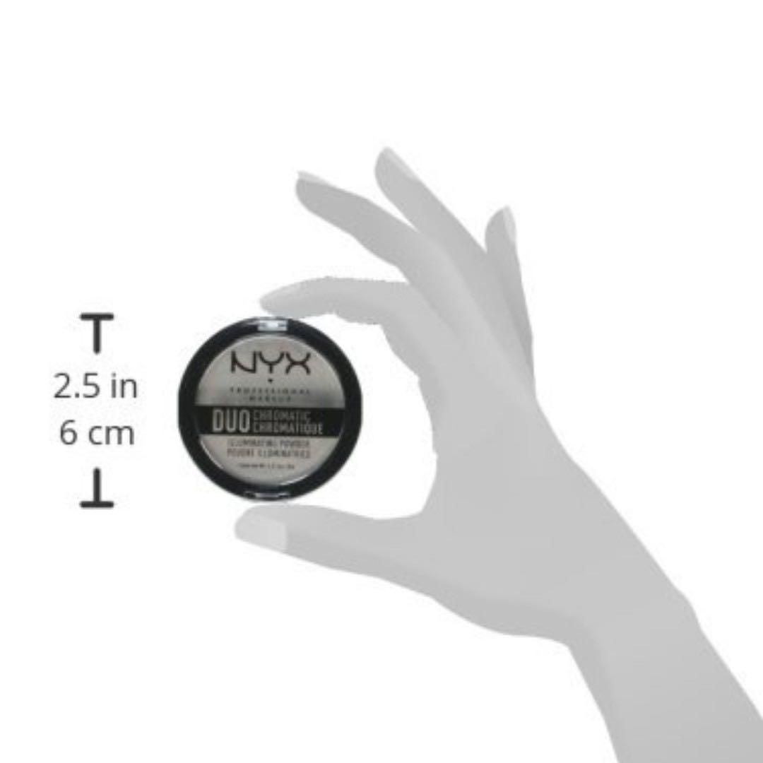 NYX Duo Chromatic Illuminating Powder ~ Twilight Tint 01