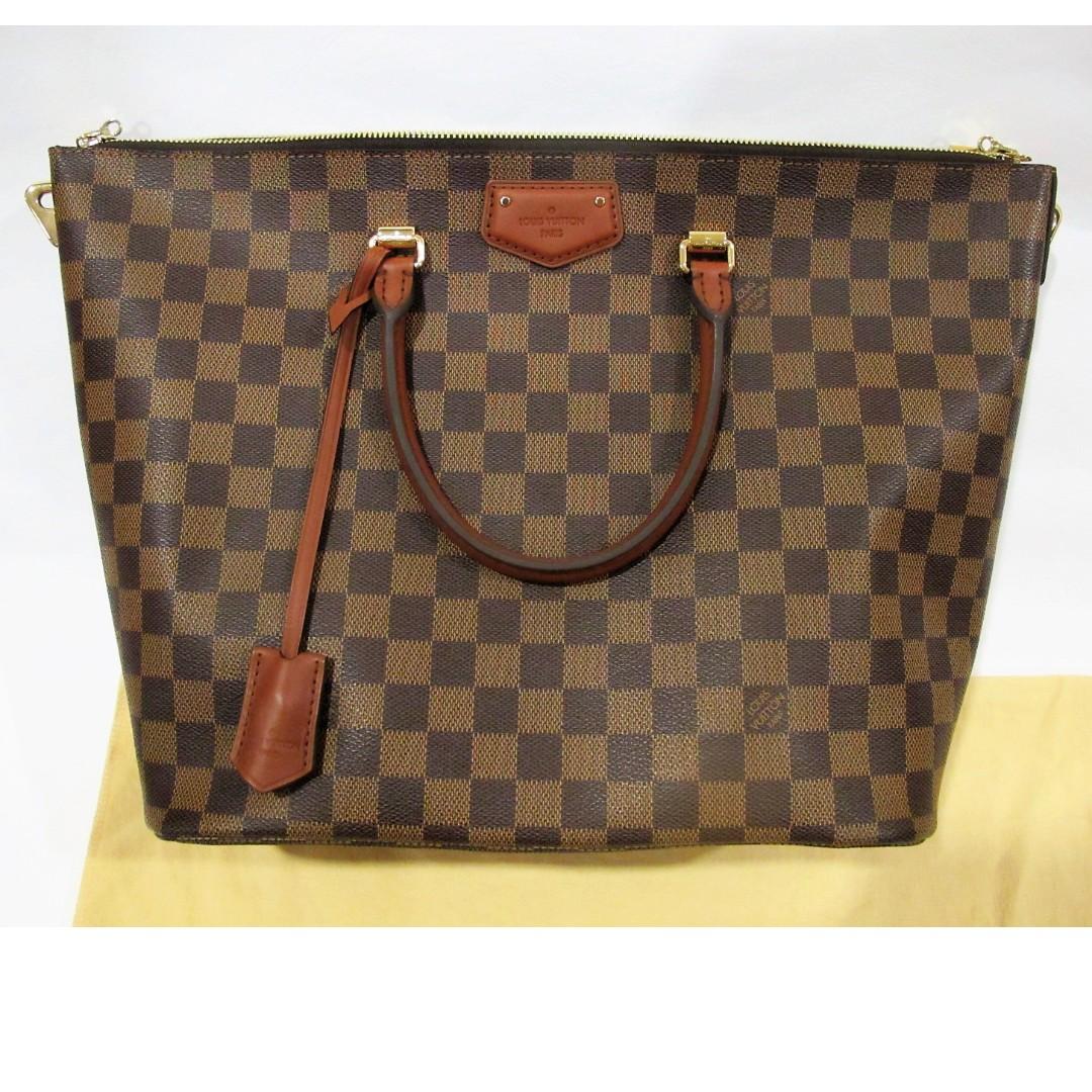 3332d1f37ae9 Original LV Bag BELMONT DAMIER Ebene
