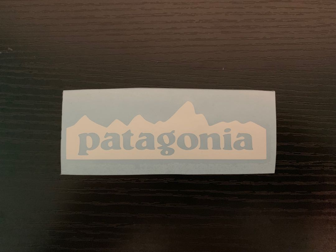 Patagonia decal sticker