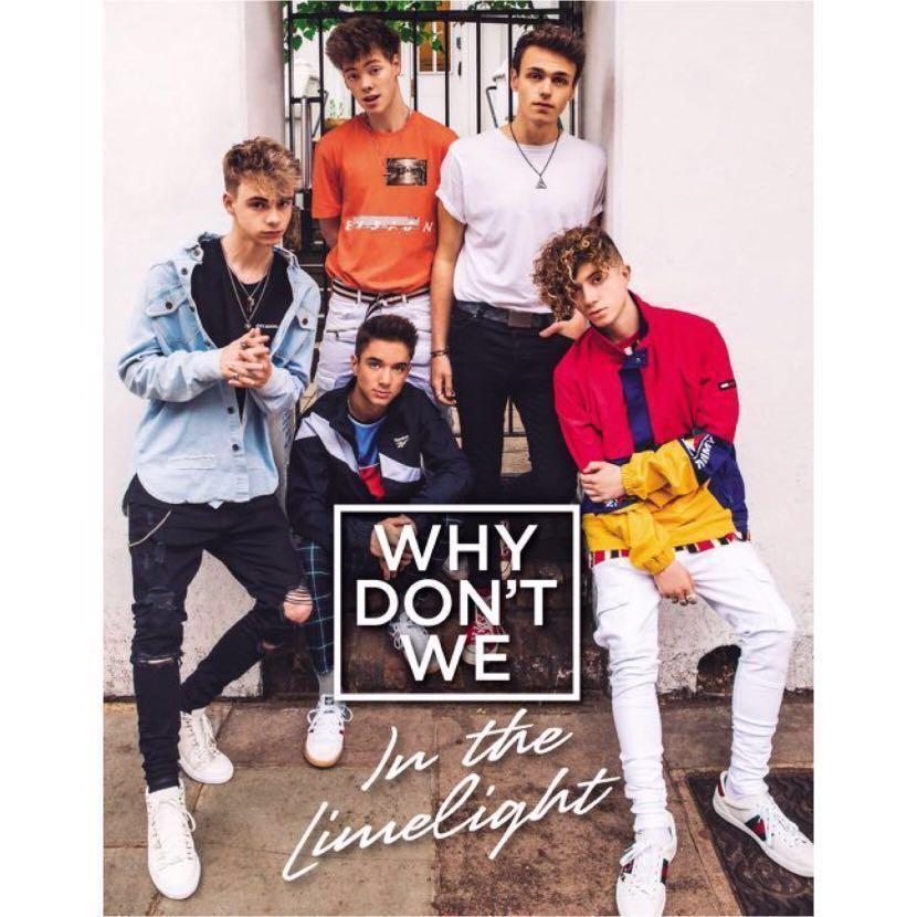 [PO] Why don't We - In The Limelight ( Hardback )