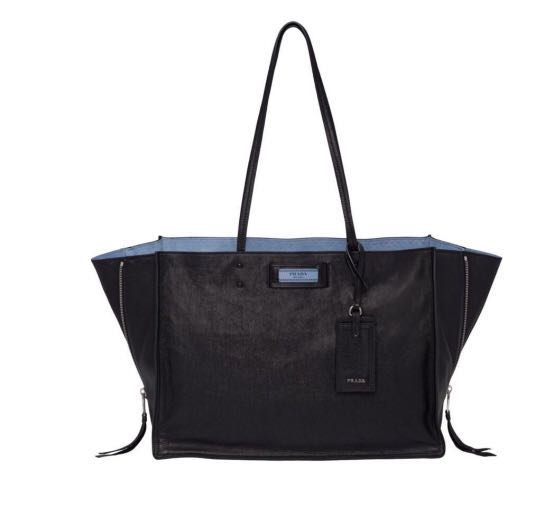 1e938f8d1e09 Prada Etiquette Full Calf Leather, Women's Fashion, Bags & Wallets ...