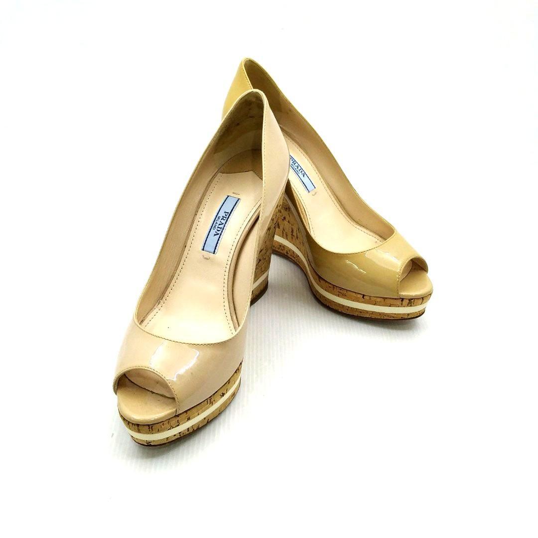 c3661dff501 Prada Wedges Size 36 197003083, Luxury, Shoes on Carousell