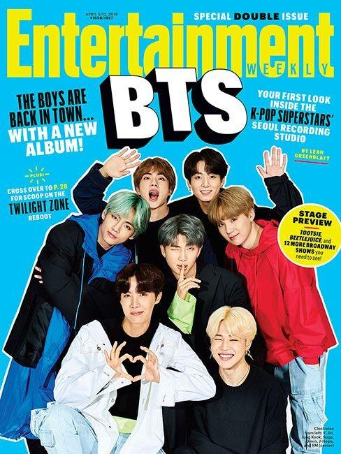 [PREORDER GO] BTS Cover: Entertainment Weekly Magazine