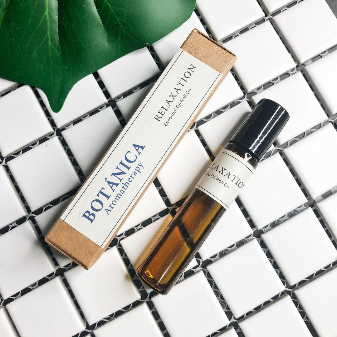 RELAXATION ESSENTIAL OIL ROLL ON