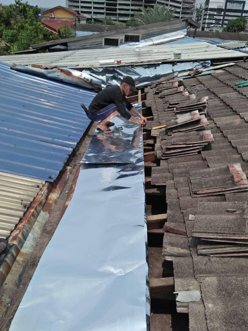 Renovation plumbing bumbung bocor kamarul-0192509471