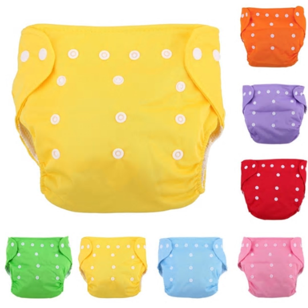 03a791dacc8 Reusable Baby Diapers Underpants Adjustable Newborn Infant Washable ...