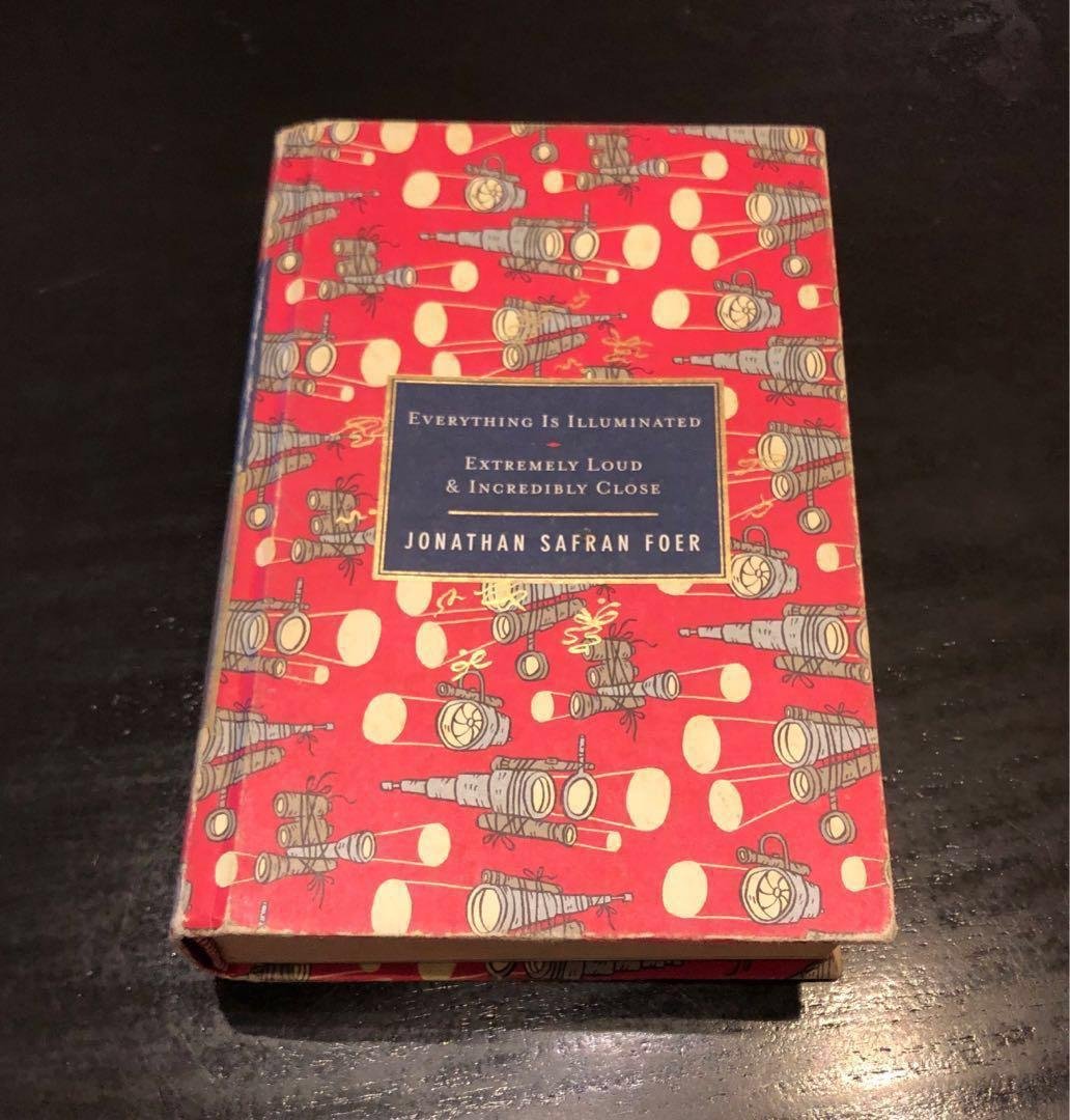SALE! Jonathan Safran Foer | Everything Is Illuminated | Extremely Loud & Incredibly Close