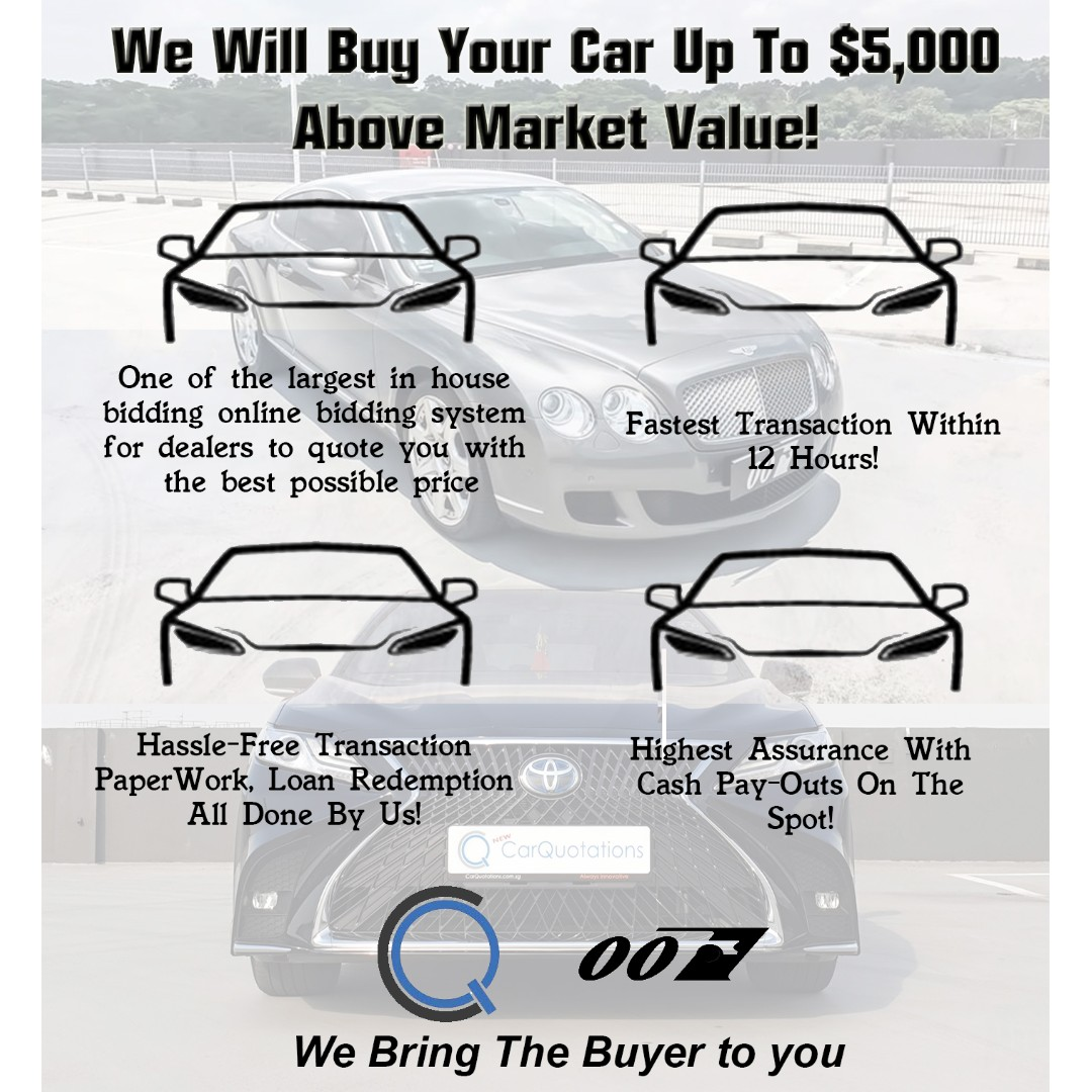 Sell / Scrap / Export Your Car At The Highest! Cash Payout