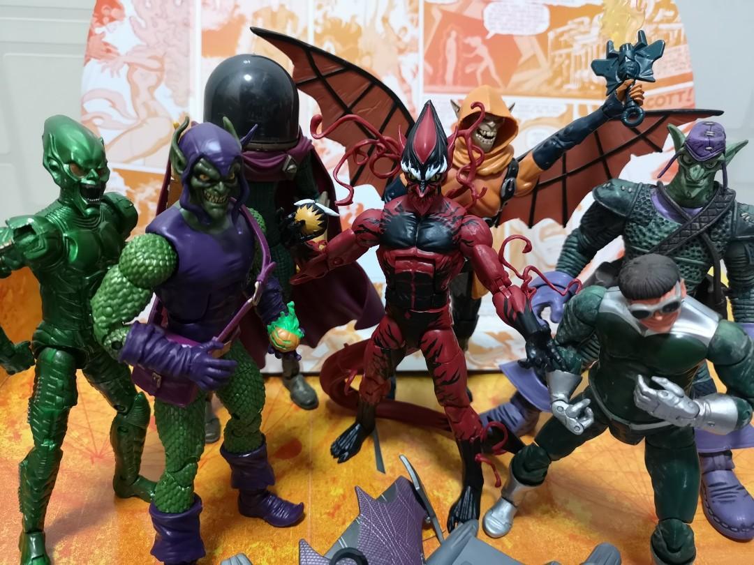 Spider-Man Marvel Legends Green Goblin, Red Goblin