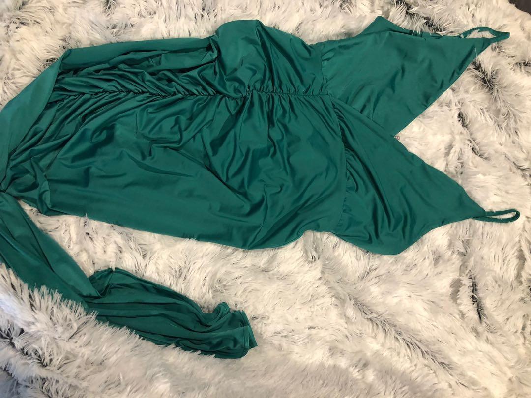Tiger mist green dress
