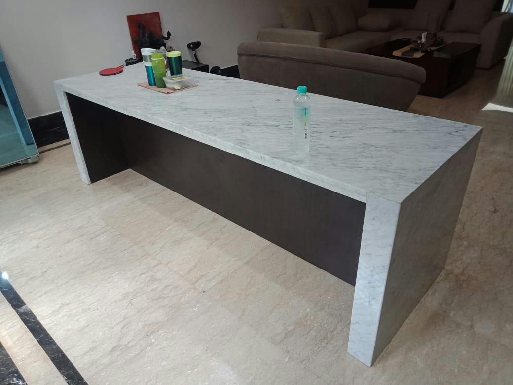 Top table/meja dapur marmer granit