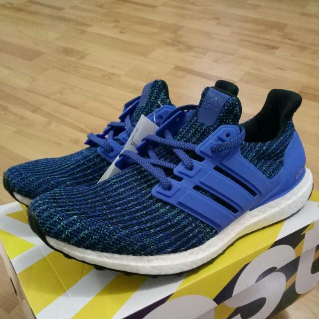 a2a45e0a8ed 🔥UK9🔥 Adidas Ultra Boost 4.0 Hi-Res Blue on Carousell