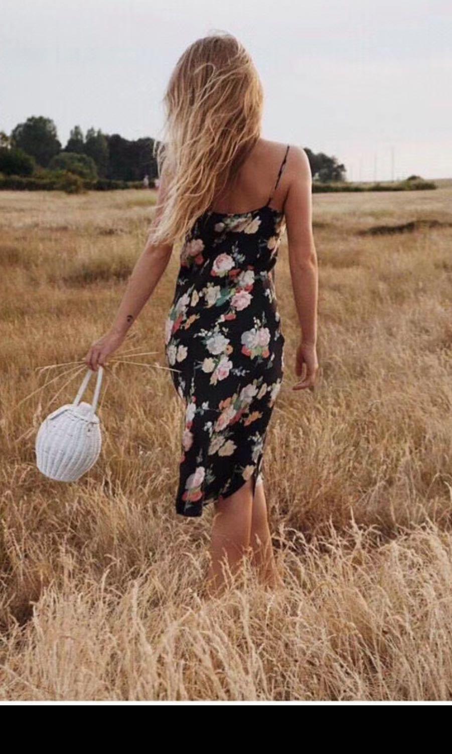 Realisation silk dress