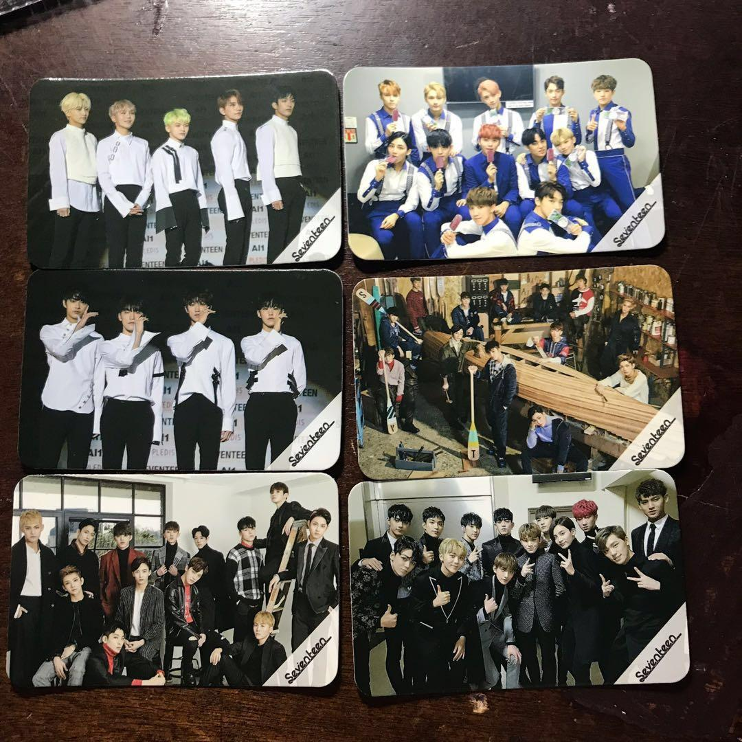 [WTS] SEVENTEEN unofficial photocards