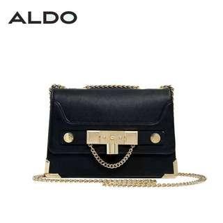 ALDO RUG BLACK SLING BAG