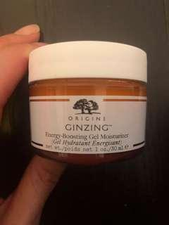 Orgins ginzing 日霜energy-boosting gel moisturiser