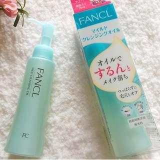 🚚 現貨 芳珂 FANCL 溫和淨化卸妝油 全新 120ml 日本帶回