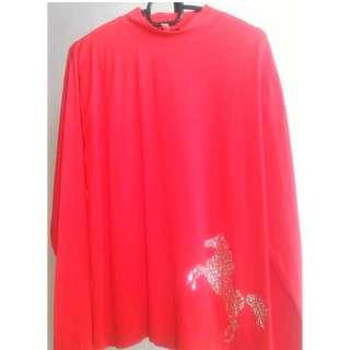Red XL t-shirt The HongKong Jockey Club