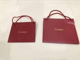 Cartier Paper Bag