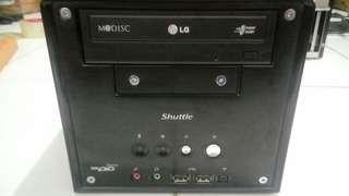 Pc Mini Shuttle Core2Duo Simple Elegan