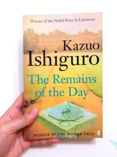 Kazuo Ishiguro:  The Remains of the Day