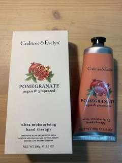 🚚 瑰伯翠紅石榴護手霜 Crabtree & Evelyn Pomegranate hand therapy