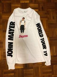 🚚 John Mayer World Tour Singapore Long Sleeve