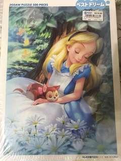 愛麗絲puzzle 正版全新$120