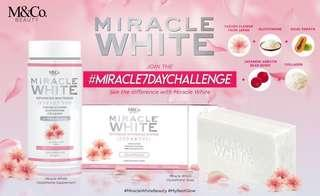 M&Co. Miracle White Gluta Supplement and Soap