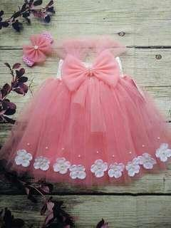 🚚 Baby Girl Tutu Dress 6-12m
