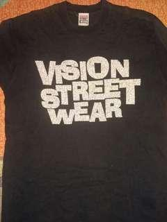 vintage 1986 vision street wear tshirt