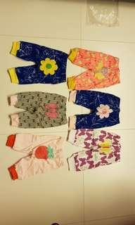 Part 1 - Newborn Baby Girl Apparel (Romper, pants, dress, Sleeping Suit) - 0 to 3 months old