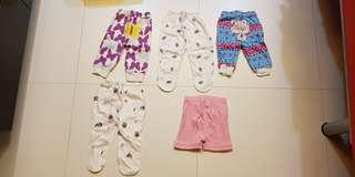 Part 2 - Used condition Newborn Baby Girl Apparel (Romper, Pants, Dress, Sleeping suit) - 0 to 3 months old.