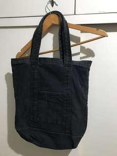 Black Denim Bag