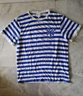 Stripe yankees tshirt