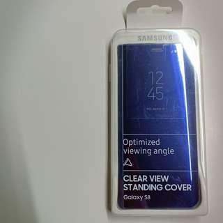 Original Samsung S8 Clear Standing Cover