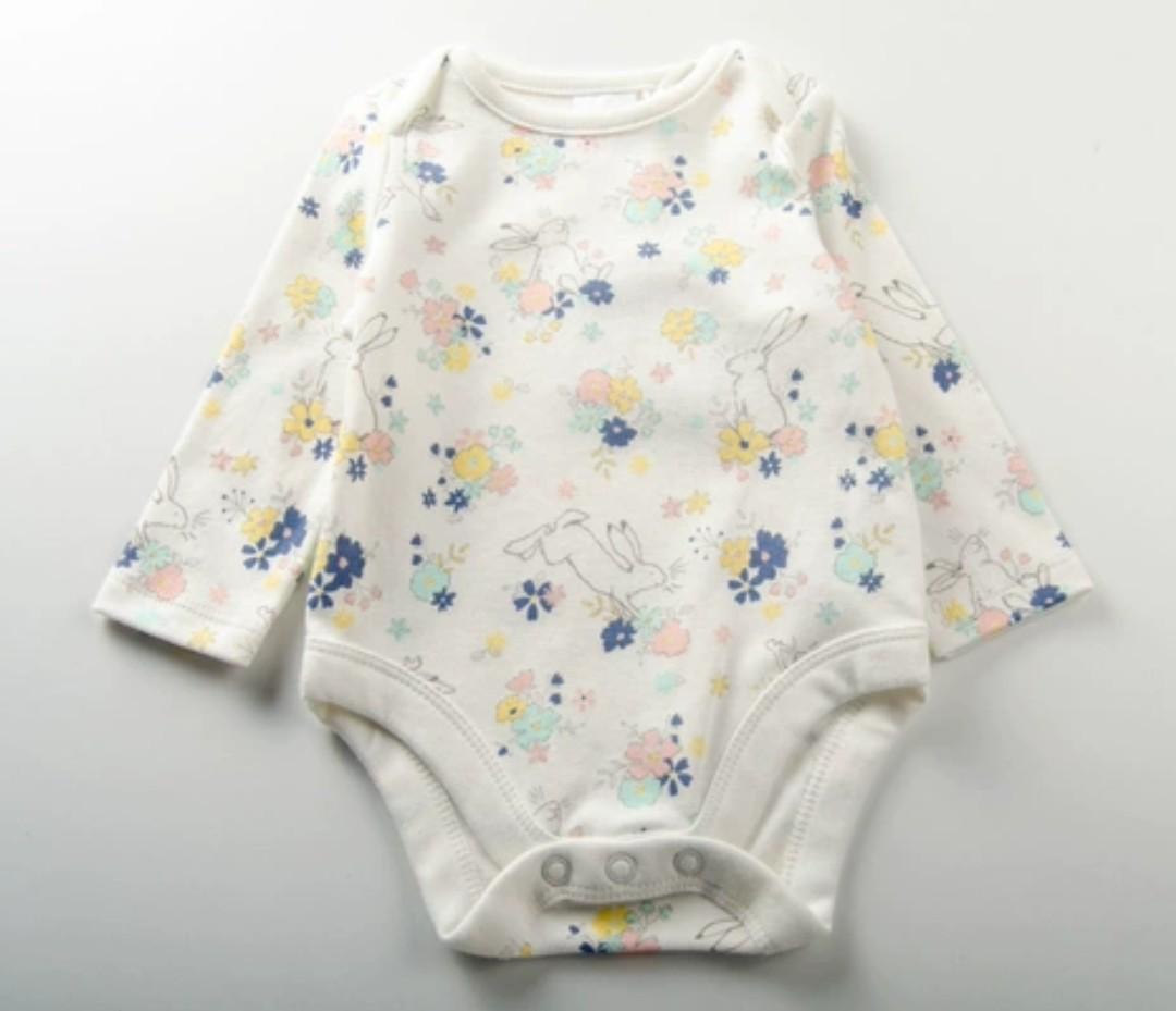 (0-18m)出口歐美 BB嬰兒女童純棉夾衣 baby girl jumpsuit