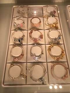 Pandora 手鏈 介子 charms 耳環