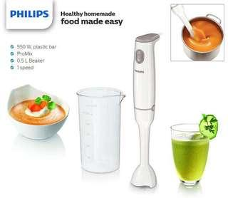 PHILIPS HR1600 ProMix 550W Hand Blender with Beaker