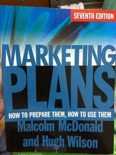 Marketing Plans (7th Edition)