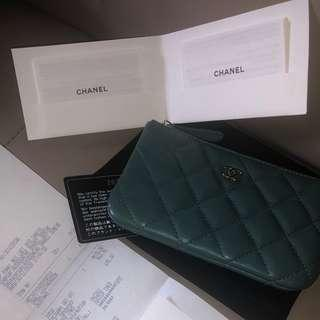 Chanel O'Case Classic small pouch in lambskin leather