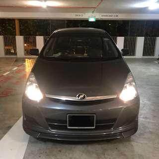 7 Seater Toyota Wish 1.8A Rental