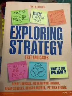 Exploring Strategy (10th edition)