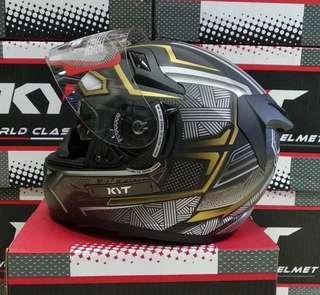 KYT K2 rider panther DOFF/Gold
