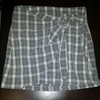 Toby heart ginger wrap skirt