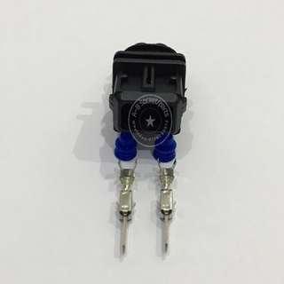 2 Pin Proton Exora Persona Preve Saga BLM Suprima Ignition Plug Coil (Male) Socket Connector