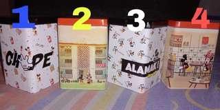 Fuyoh! Tin Mini Mickey Go Local 7Eleven Original Box