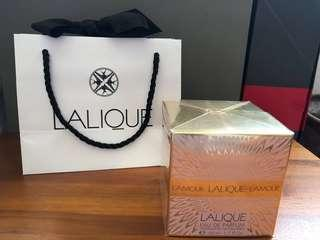🚚 LALIQUE Brand New  Ladies L'Amour Authentic Eau De Parfum 50ml