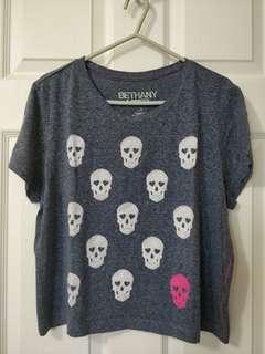 Blue-Grey T-Shirt/Bethony Mota