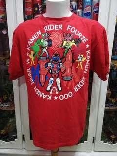 Kamen Rider Japanese Cartoon Action Movie T shirt